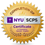 Koev NYU Certificate in Translation